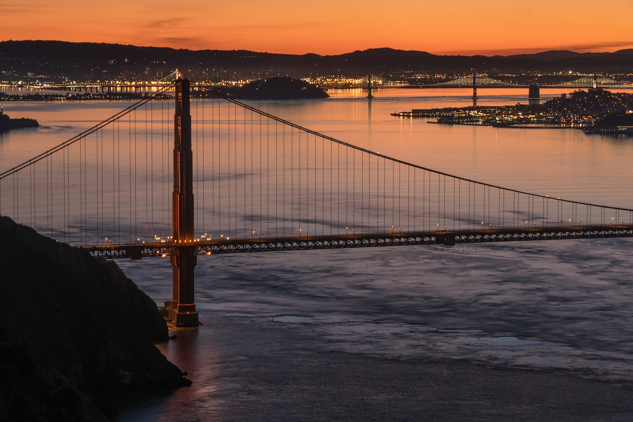 Golden Gate at Sunrise 4