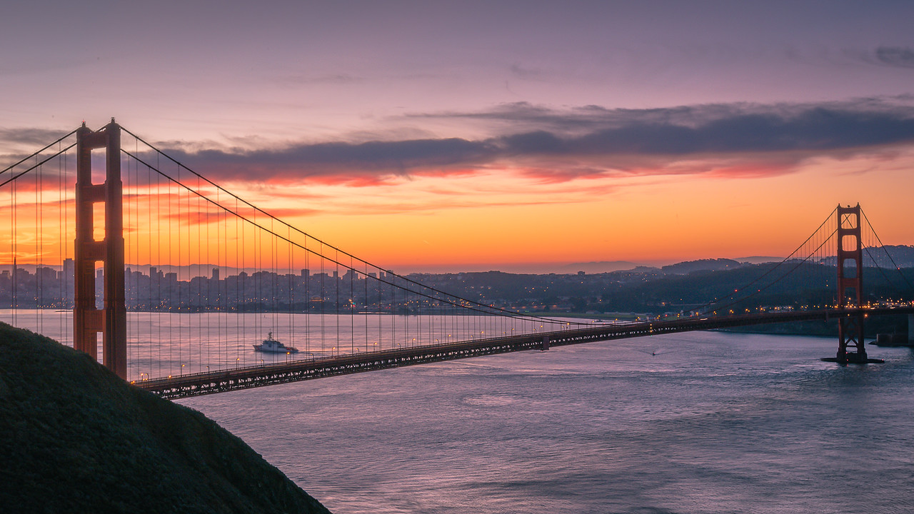 Span at Sunrise