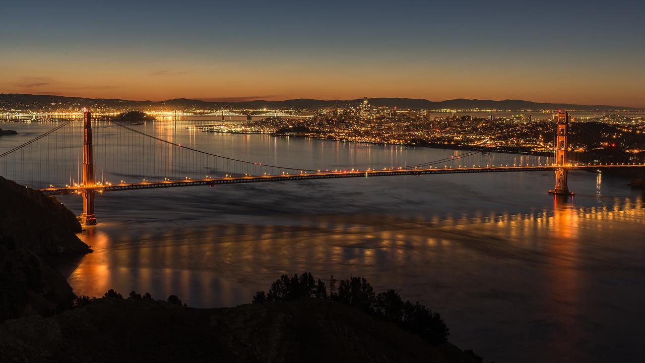 Golden Gate at Sunrise 2