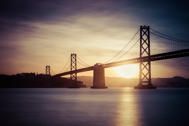 Bay Bridge Sunrise 4