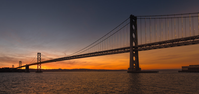 Bay Bridge Sunrise 3