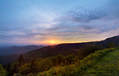 Blue Ridge Sunset