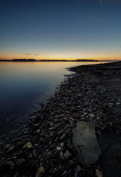 Shoreline at Twilight