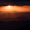 Last Rays at Clingmans Dome