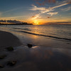 Sunset on Dickenson Bay