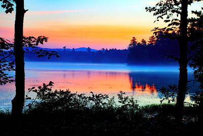 Dawn on Raquette Lake