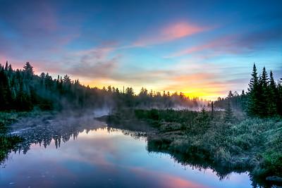 Big Brook in Long Lake