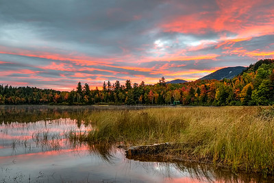 Another Autumn Sunrise from Connery Pond