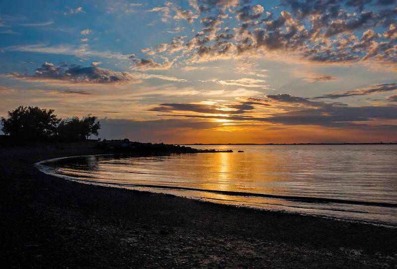 Sunset at Crescent Beach,  BC