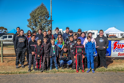 Junior Dragsters Group Photo