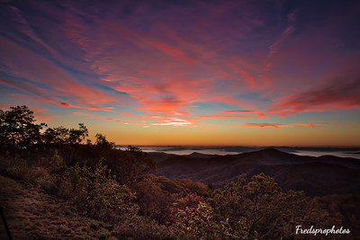 Pounding Mill Overlook - Sunrise NC - -2