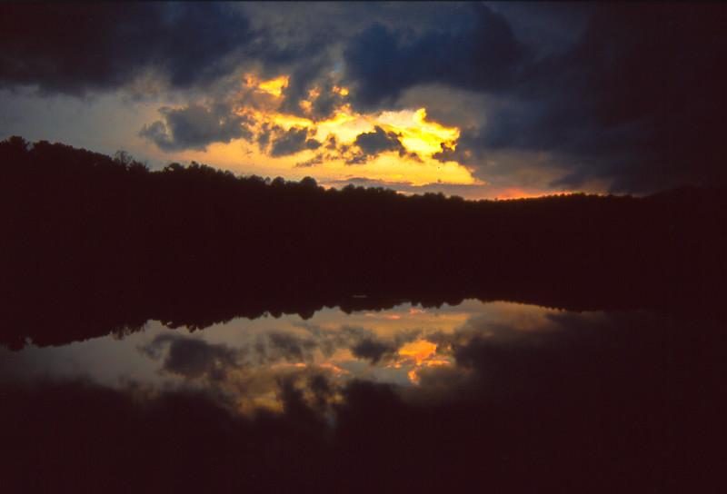 Thunderstorm At Price Lake NC