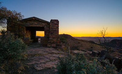 CCC Shelter - Davis Mountains State Park