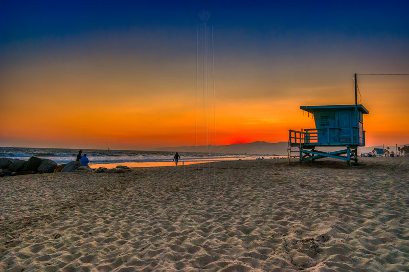 Venice Beach Sunset.