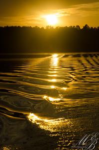 Sunset Cowan Lake