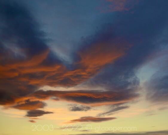 """""""Denver Sunset"""" January 30, 2012 Denver, Colorado"""