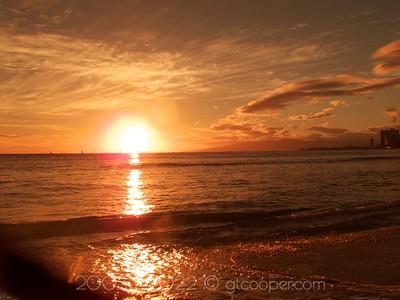 Sunset Orange - Hawai'i