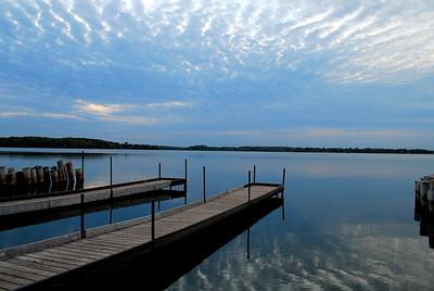 Independence Lake Boat Dock, Medina, MN.  ©JLCramerPhotography 2008