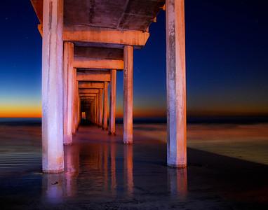 Scripps Pier, La Jolla, Ca.  ©JLCramerPhotography 2010