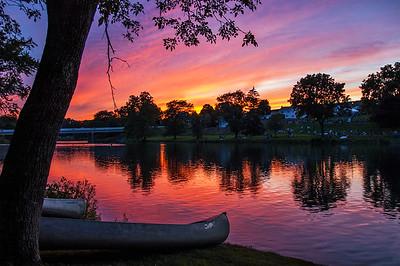 Penns Creek Sunset