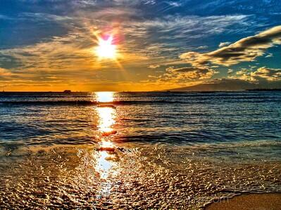 Sunset Intensity - Hawai'i