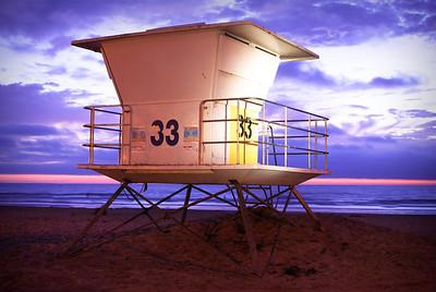 Tower 33 La Jolla Shores Beach ©JLCramerPhotography 2009