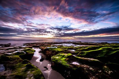 Time Lapse Negative tide La Jolla, CA ©JLCramerPhotography 2012