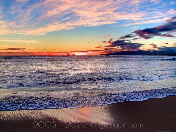 Sunset Blue - Hawai'i