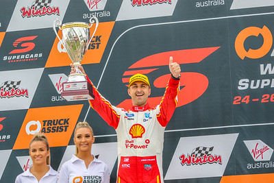 Virgin Australian Supercars - Winton SuperSprint - Pits & Podiums