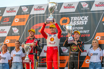Virgin Australian Supercars - Winton SuperSprint - Pits & Podiums