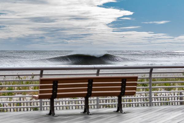 10/10/19: Tropical Storm Melissa, Long Beach New York