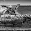 Welsh Pro Surf Competition - Rest Bay, Porthcawl. Mono.