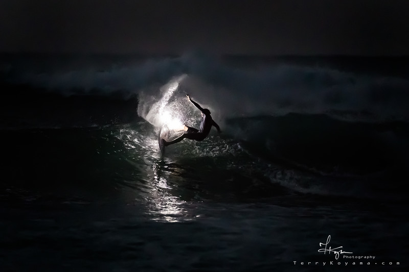 Jamie O'Brien Night Surfing