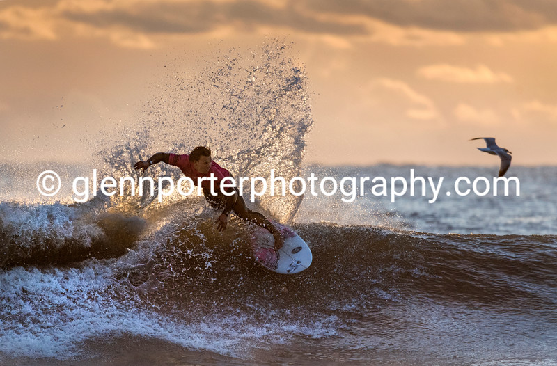 Watch the birdie - Welsh Pro Surf Competition - Rest Bay, Porthcawl.