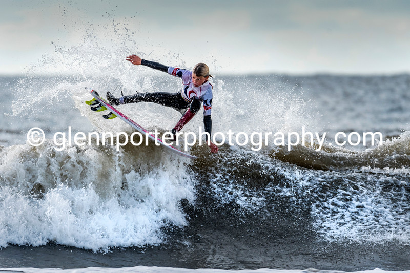 Surfing grom - UK Pro Surf Competition 2019