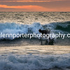 Last surf – Sunset at Whitesands Bay, Pembrokeshire, Wales