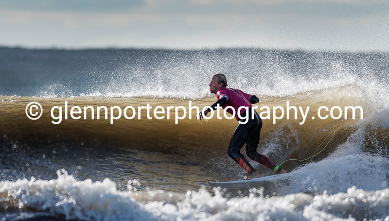 Welsh Pro Surf Competition, Rest Bay, Porthcawl.