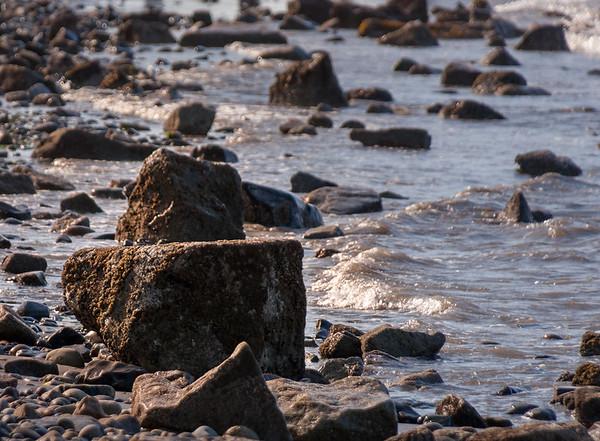 Rocks along Seashore