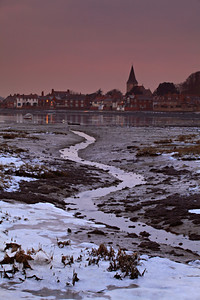 Frosty Bosham, West Sussex
