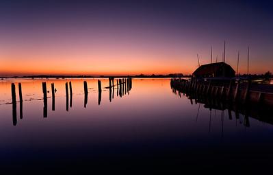 Bosham sunset, West Sussex