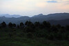 Near sunset along the peaks of the Makhonjwa Mountains - which forms the border between Mpumalanga (province) of South Africa - and here in Swaziland (specifically, along the forest road between Piggs Peak and Bulembu.