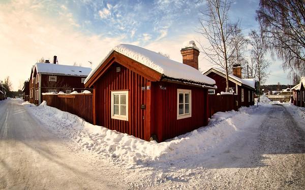 Winter in Falun, Elsborg