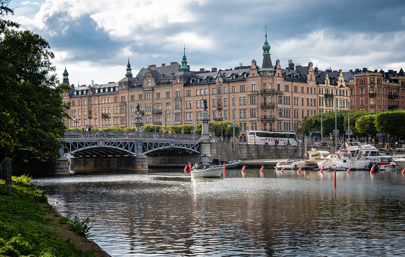 Scenes from Stockholm, a classic European city.