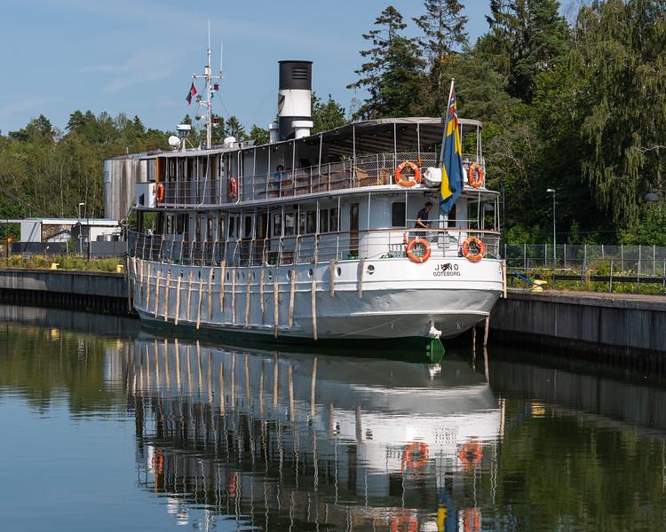The Juno, Gota Canal, Sweden.