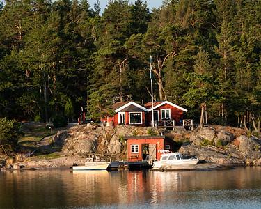 Sunrise in the Archipelago, Sweden.
