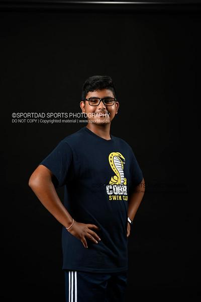 Aarav Daudia, Cobra Swim Club