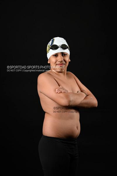 Arjun Hans, Cobra Swim Club