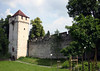 Schirmerturm (Schirmer Tower) - standing 90 ft. (27.5 m) tall, along the Museggmauer (Musegg Wall), the old fortress wall (built from 1370-1442) - Lucern