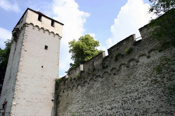 Schirmerturm (Schirmer Tower) - along the Museggmauer (Musegg Wall), the old fortress wall (built from 1370-1442) - Lucern