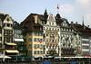 Alstadt (old city) - along the Reuss River - Lucerne